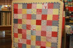 Love the rick rack. American Quilting IMG_7434