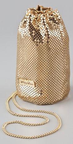 1e43b48ad1 Women s Bags   Picture Description Whiting  amp  Davis Chain Mesh Pouch -   Bags https