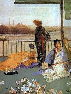 JAMES ABBOTT MCNEILL WHISTLER (1834/1903), AMERICAN PAINTER – Art for Art