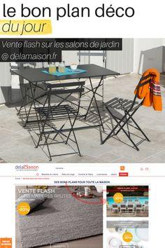 Vente Flash Salons de Jardin (jusqu'à 30% de réduction) @ delamaison  http://www.homelisty.com/vente-flash-salon-jardin-delamaison/