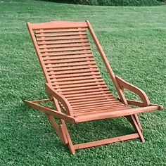 International Caravan Royal Tahiti Folding Patio Lounge Chair