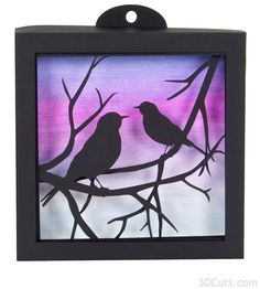 Birds on branches by 3dcuts 2.jpg