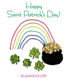 May you be touched by a bit of Irish Luck! #HappySaintPatricksDay  #KleanColor
