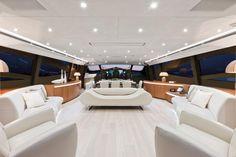 Internal view Pershing Yacht - Pershing 115'