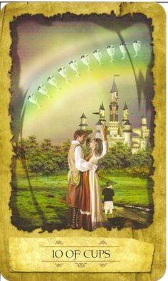 Tin tức Lá 10 of Cups - Mystic Dreamer Tarot bài tarot