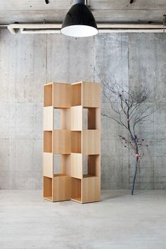 Wooden unit by Conde House Europe