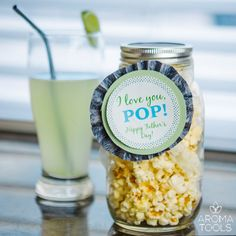 Father's Day Idea: Popcorn & Soda made with essential oils for The world's Greatest Pop!
