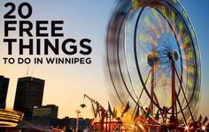 Things to Do in Winnipeg Visit Canada, Canada Travel, Find Jobs Online, Stuff To Do, Things To Do, Vacation Trips, Vacations, Travel Goals, Travel