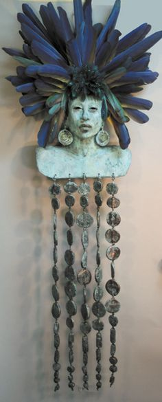 Turquoise Goddess by Misha Malpica.  Check out the rest of her stunning work!   www.mishasart.com