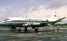Vickers Viscount 749 (YV-C-AMV, c/n 94) of Aeropostal. Crashed after take off from Mérida Carnevalli airport on January 25th, 1971. 1 of the 4 crew and 12 of the 43 passengers on board died in the crash.