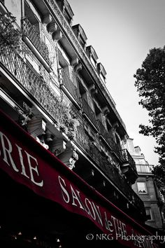 """The red awning"" Paris, France"