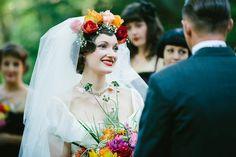 Eccentric, Whimsical & Eclectic Homespun Wedding: Erik & Caitlin