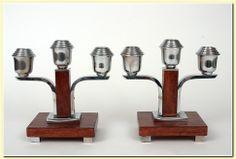 candlesticks - ART-DECO