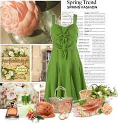 """Spring"" by cathy1965 ❤ liked on Polyvore"