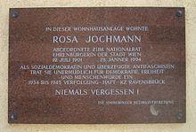 Rosa Jochmann – Wikipedia