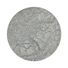 "SILVERY - Eye Shadow - ""Light silver pearlescent"" - Mineral Eye Shadow - Organic, Vegan, Cruelty-Free Eye Shadow by GiaMineralsBeauty on Etsy"