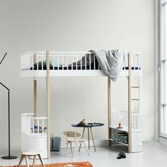 Schön Wood Collection Loft Bed By Oliver Furniture.