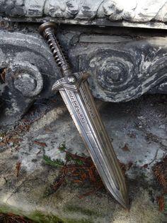 Skyrim inspired Dwarven Dagger by DokProps on Etsy, £75.00