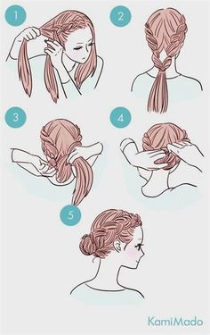 wedding hairstyles easy hairstyles hairstyles for school hairstyles diy hairstyles for round faces p Cute Simple Hairstyles, Easy Hairstyles For School, Trendy Hairstyles, Tied Up Hairstyles, African Hairstyles, Super Easy Hairstyles, Beautiful Hairstyles, Curly Hairstyles Tutorial, Easy Hairstyles Tutorials