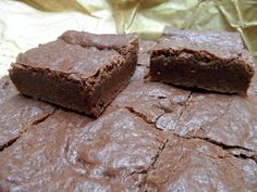 Brownies - you can make in one bowl