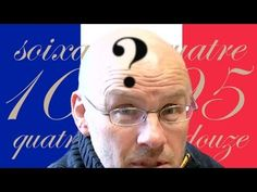 I wouldn't necessarily say these are problems with the way the French name numbers except when you think about them like an Anglophile. Problems with French Numbers - Numberphile. French Teacher, Teaching French, Teaching English, French Numbers, French People, French Clip, French Classroom, French Resources, People Videos