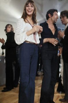 Jane Birkin and Serge Gainsbourg