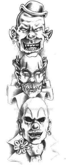 Evil Hear no speak no see no by Crazy-Tatts