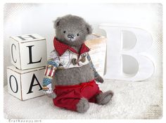 PATTERN Download to create Teddy like Bear William  by zverrriki