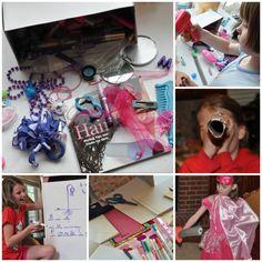 25 DIY thematic pretend play kits