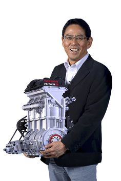 Nissan unveiled an internal combustion engine small enough to carry. The three-cylinder turbo produces 400 horsepower and weights just Images © Nissan The new Nissan's engine will be… Le Mans 24, New Nissan, Nissan Gt, Race Engines, Combustion Engine, Motorcycle Engine, New Engine, Small Engine, Car Wheels