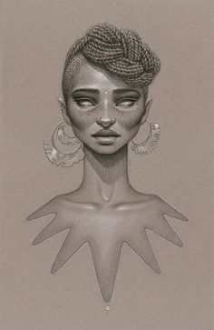 love beauty art vintage passion african american black women black art Goddess native afro natural hair twist out Cleopatra black love paint...