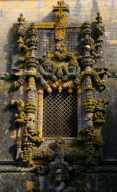 Convento de Cristo (Convent of the Order of Christ)-Tomar, Portugal-c. 1200