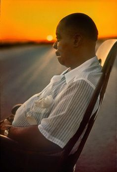 Louis Armstrong by Art Kane, 1958