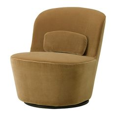 Ikea   STOCKHOLM Swivel Easy Chair, Sandbacka Dark Beige This Would Be A  Great Guitar Chair Because It Is Armless.