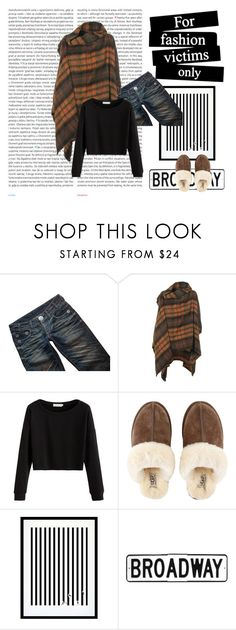 """Cozy Saturday"" by mandeerose ❤ liked on Polyvore featuring Thomas Wylde, Vivienne Westwood Anglomania, UGG, Oris and Eleanor Stuart"