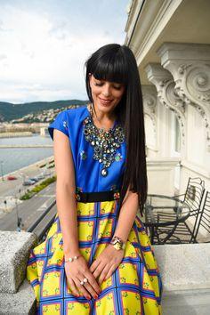 Laura Comolli indossa San Andres Milano - Come vestirsi per una sera d'estate? 3…