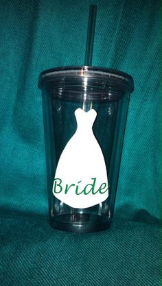 Personalized+Wedding+Tumbler+16oz++Wedding+by+Designbeyondcreative,+$12.00