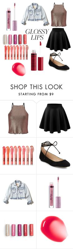 """""""Rad Outfit + my lip gloss picks"""" by shekb ❤ liked on Polyvore featuring beauty, Miss Selfridge, Karl Lagerfeld, Hollister Co. and Charlotte Russe"""