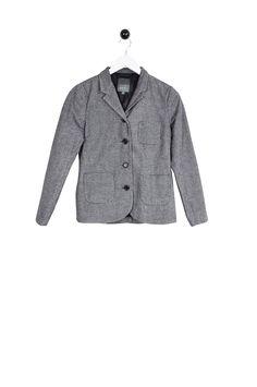 Edward Jacket grey chequered Gray Jacket, Shirt Dress, Blazer, Grey, Mens Tops, Jackets, Shirts, Dresses, Women