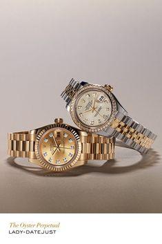 Rolex Lady-Datejust #RolexOfficial