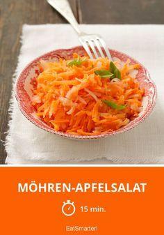 Möhren-Apfelsalat - smarter - Zeit: 15 Min. | eatsmarter.de