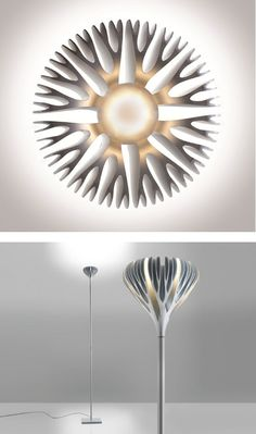 Zamak floor #lamp by ARTEMIDE | #design Ross Lovegrove