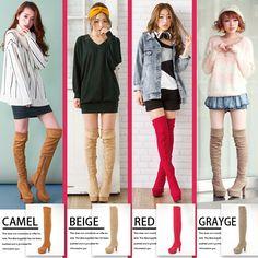 dreamv | Rakuten Global Market: [Rave reviews at evolution ver! 10 cm thick heels-knee high boots | GL] ◆ outstanding stock