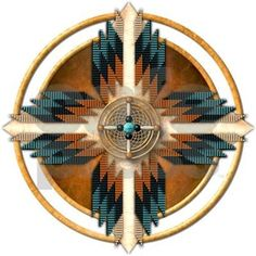 Check out this awesome 'Southwest+Native+American+Medicine+Wheel+Mandala' design… Native American Decor, Native American Patterns, Native American Symbols, American Indian Art, American Indians, Cherokee Symbols, Native American Medicine Wheel, American History, Native Beadwork
