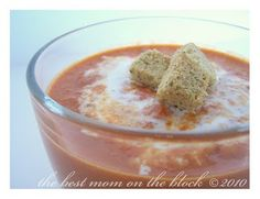 The Best Mom on the Block: Roasted Red Pepper Tomato Soup