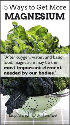 Easy, practical and effective ways to get more magnesium - pin now for later #health #magnesium