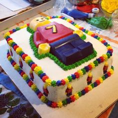 Lego Birthday Cake Cakes Ive Made Pinterest Birthday cakes