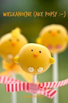 Kurczaczki - wielkanocne lizaki ciasteczkowe