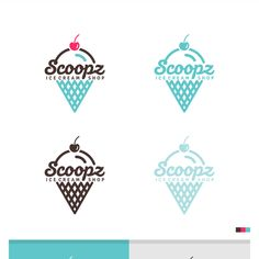 Scoopz Ice Cream Shop Logo - help! by Artpossible™