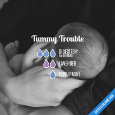 Tummy Trouble - Essential Oil Diffuser Blend